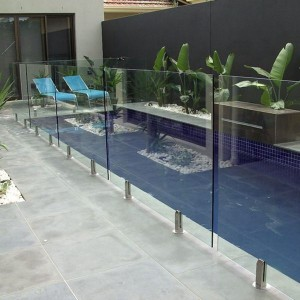 Safety Glass Railings/Glass Pool Fences