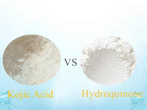 Kojic acid vs Hydroquinone in skin care