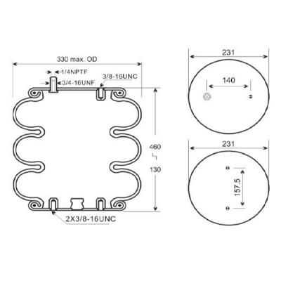 Industrial Application Triple