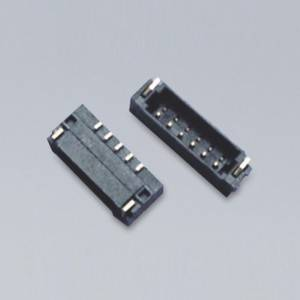 YWX060 Series  Wire-to-Board connector  Pitch:0.6mm(.024″)  Side Entry  SMD Type  Wire Range:AWG 36