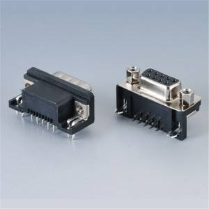 D-Sub DB 9PIN  Female and Male 90°DIP Type