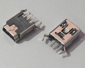 MINI USB Female 5Pin DIP Type