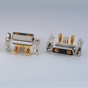 D-Sub/VGA Connector Heavy Current Female 5PIN  90°DIP