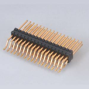 Pin Header  Pitch:1.27mm(.050″) Dual Row  horizontal SMD Type