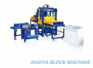 QT4-10 hydraulic cement brick  production line