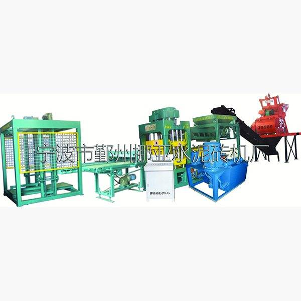 Reasonable price for Nyqt8-15 fully automatic block cement brick machine Export to Malawi