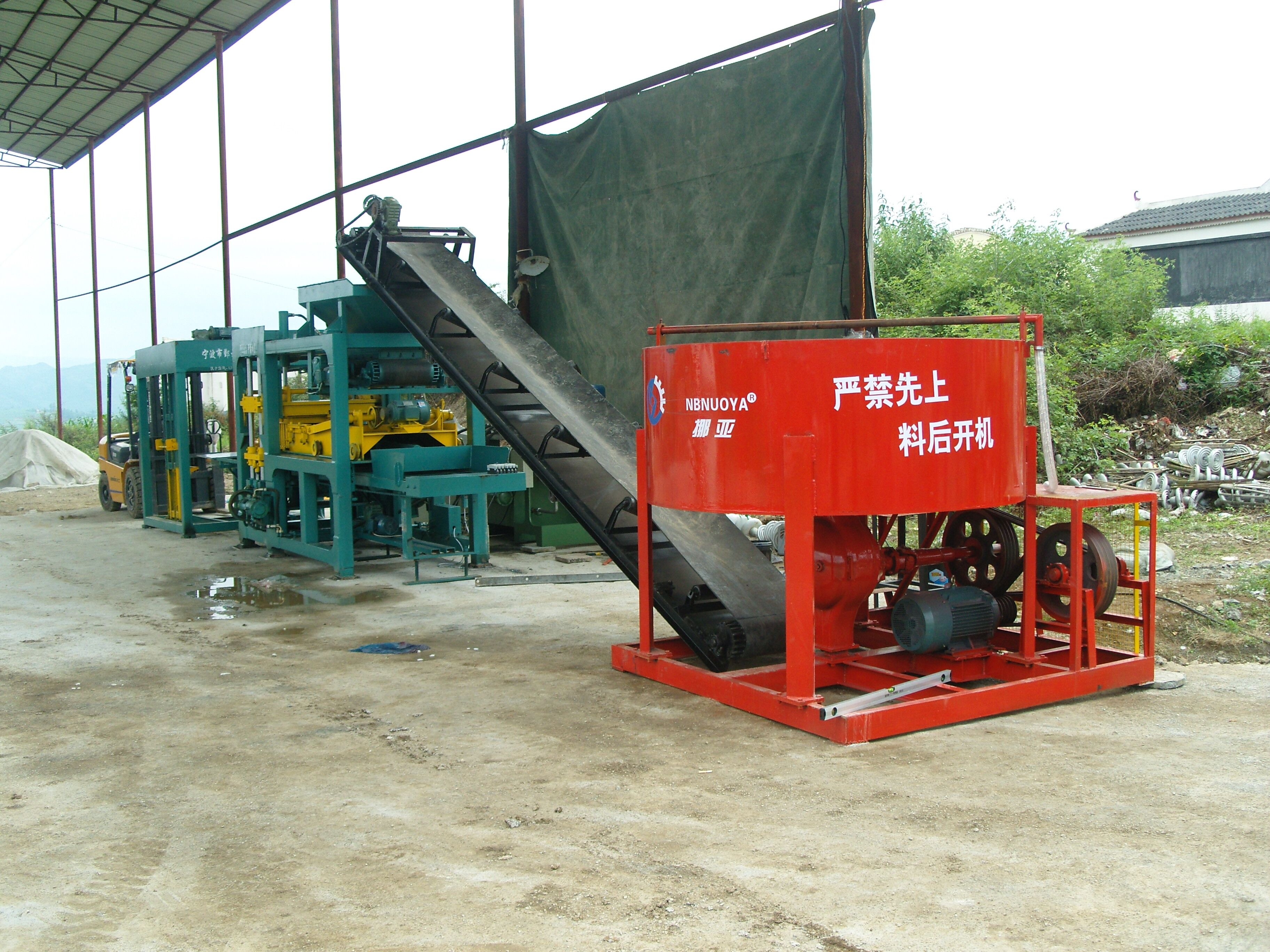 cement brick making machine semi-auto hand loader star7s-10sec machinery Featured Image
