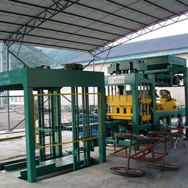 Nyqt6-15 fully automatic block cement brick machine