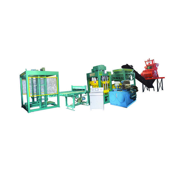 Reasonable price for Nyqt8-15 fully automatic block cement brick machine for Somalia Manufacturer