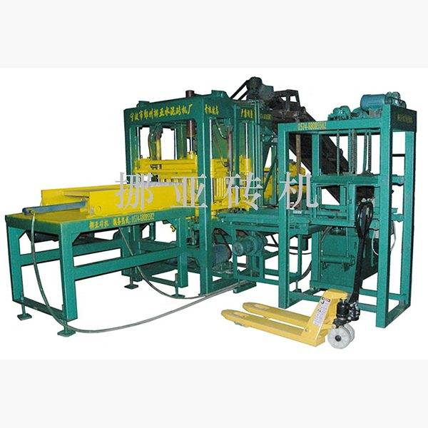Semi-automatic hollow brick machine NYQT3-15 Featured Image