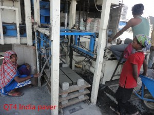 easy production line to make cement blocks  in srilanka