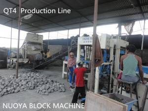 small cement block machine in Srilanka