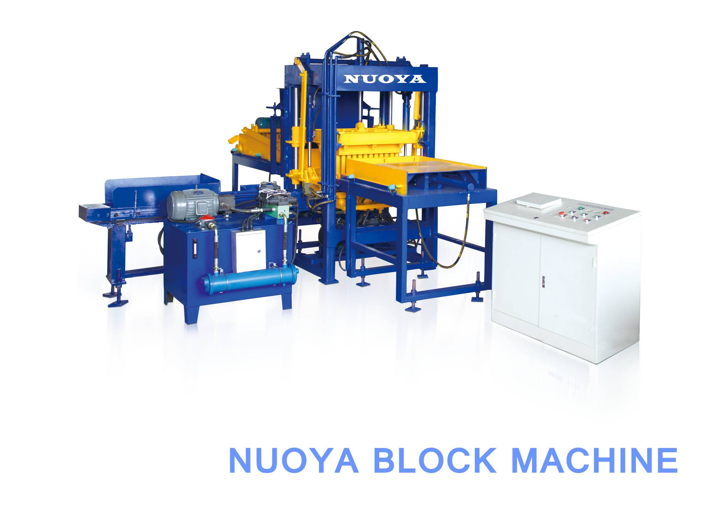 Qt4-15 Automatic Hydraform Concrete Interlock Paving Block Making Machine Featured Image
