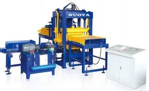 Fly ash  hollow brick machine making