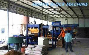 Cement block machine production line