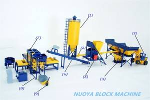 Qt6-15 High Automaticity  Paver Brick Machine