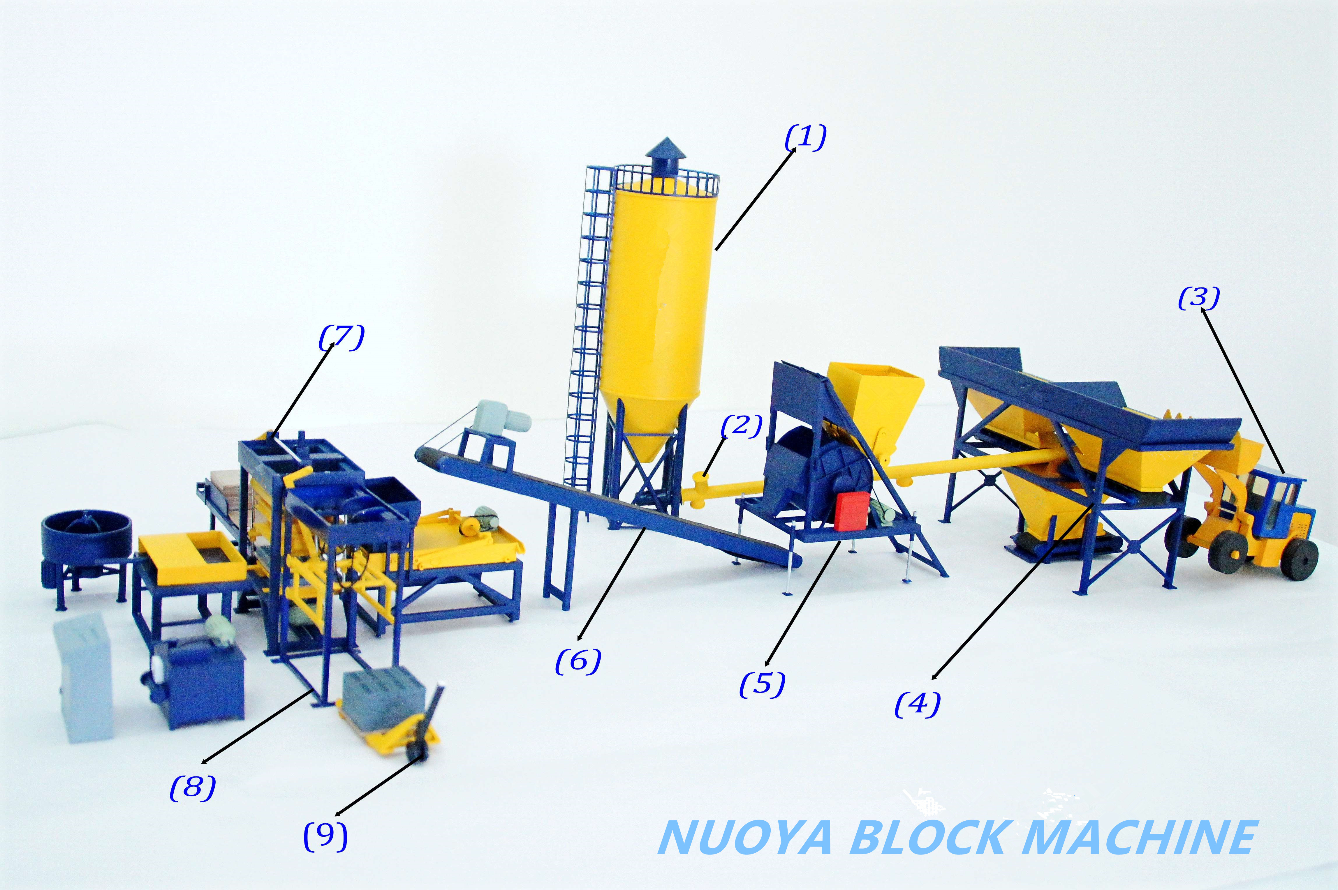 Qt6-15 High Automaticity  Paver Brick Machine Featured Image