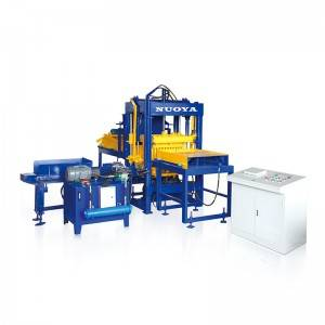 QT4-15 Fully Automatic Concrete Block machine