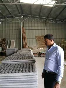 Hollow Blocks Bricks Making Machine Manually
