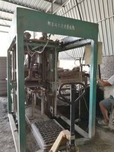 semi-automatic  brick  paver making plant
