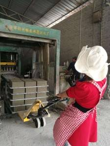 concrete block paver  making machine in china
