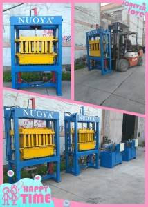 china hydraulic brick making machine factory