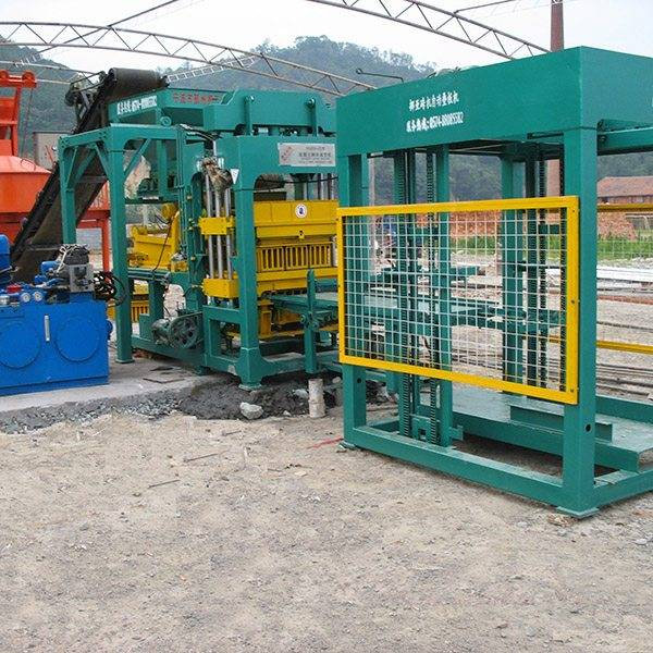 Reasonable price for Nyqt8-15 fully automatic block cement brick machine for Somalia Manufacturer detail pictures