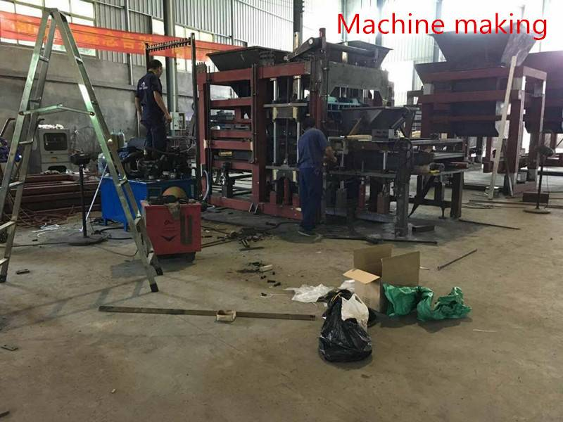 Concrete block making machine Featured Image