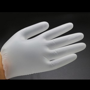 Disposable medical PVC gloves (natural color)