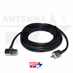 Universal 5meters RG58 Car Radio Antenna Connection Cable
