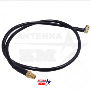 SMA-Female To Male 60cm RG58 Coaxial Extend Cable for Baofeng UV-5R UV-82 UV-9R Walkie Talkie