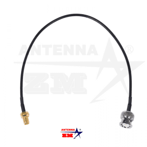SMA Male To BNC Male Walkie Talkie Antenna RG58 Connection Cable