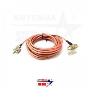 5meters RG303 Teflon Low Loss Car Radio PL259 Antenna Extension Cable