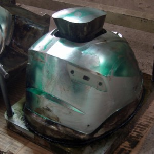 Motorcycle Helmet Mold