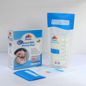 Breastmilk Storage Bags with Thermal Sensor
