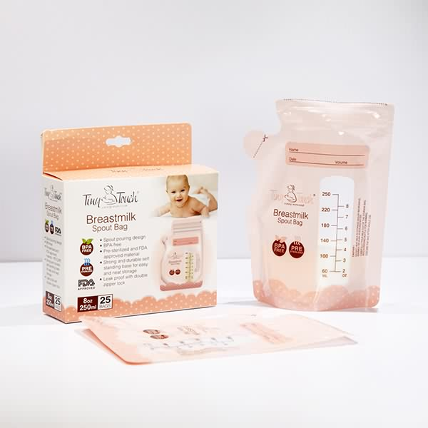 New Delivery for Breast Milk Storage Bags -