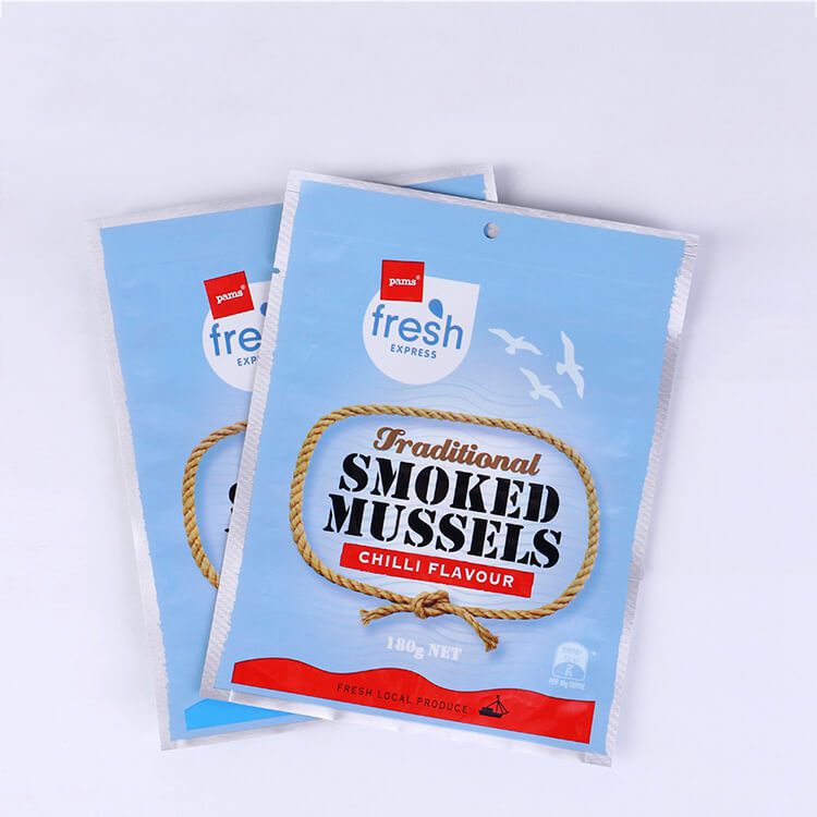 2019 China New Design Plastic Pouch Bag -
