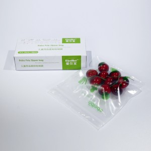 Anti-Bacterial Storage Ziplock Bags