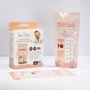 factory customized Breastmilk Storage Bags Bpa Free -
