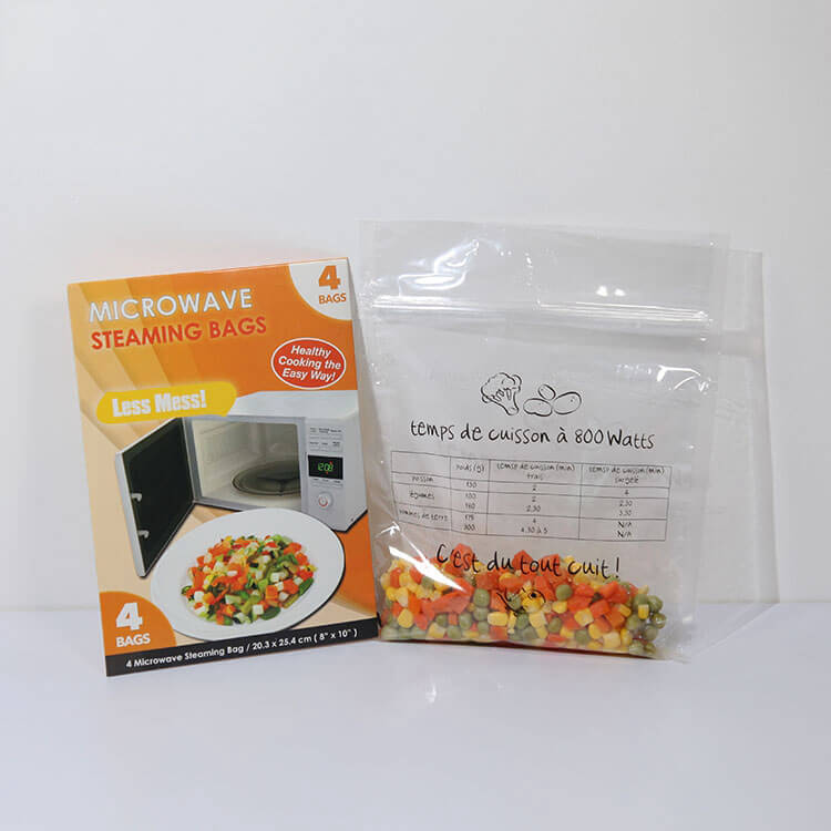 Cheap price Stand Up Microwave Storage Bag -