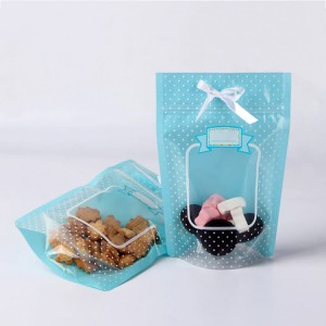 Online Exporter Cookies Packaging Mylar Ziplock Bags -