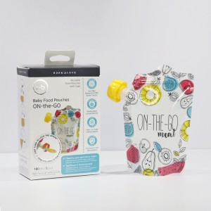 New Fashion Design for Presterilized Breast Milk Storage Bag -