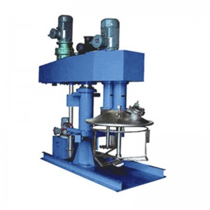 Hydraulic Lifting Dual Shafts Disperser