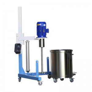 Pneumatic Lift High Speed Disperser &Dissolver Machine