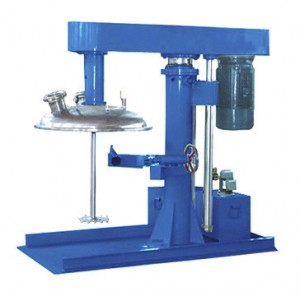Hydraulic Lift Vacuum Closed High Speed Disperser