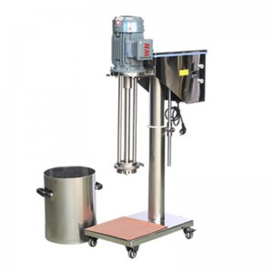 Electric Lift Lab Batch High Shear Mixer