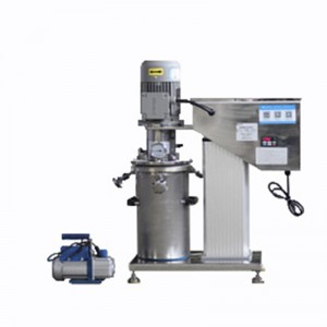 Lab Electric Lifting Closed Vacuum High Speed Disperser