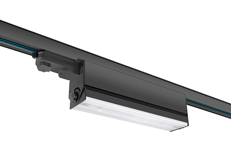 High reputation Linear Chandelier Black -