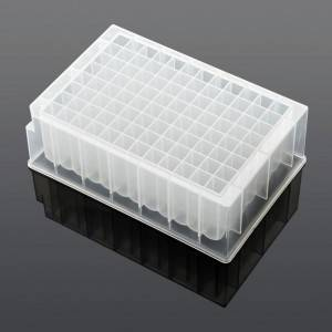 2.2ml 96 Square well plate