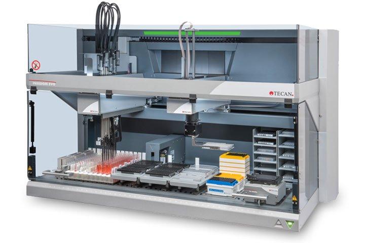TECAN为自动嵌套LIHA一次性尖端处理提供革命性的转移工具